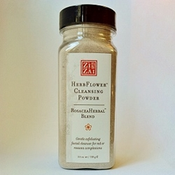 HerbFlower Cleansing Powder: RosaceaHerbal™ Blend herbal facial cleanser, rosacea treatment, facial exfoliator, red complexion, rosaceaherbal
