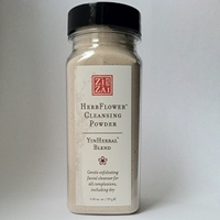 HerbFlower Cleansing Powder: YinHerbal™ Blend herbal facial cleanser, sensitive skin, facial exfoliator, dry skin, mature skin