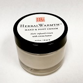 HerbalWarmth™ Hand & Foot Cream herbal cream, raynauds cream, cold hands, cold feet