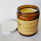 Natural Soy Candle soy candle, soy wax, made in colorado